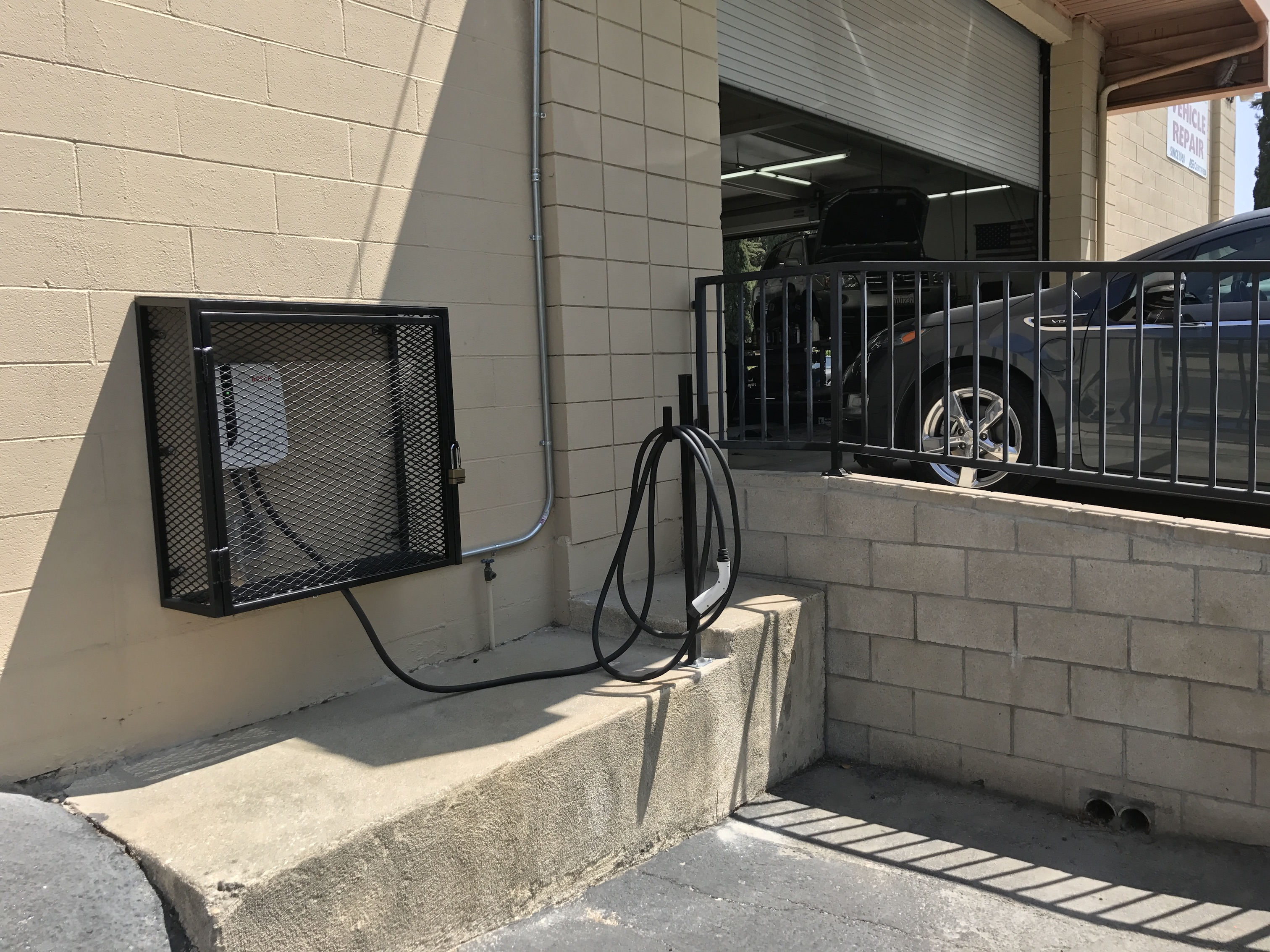 Level II 9.6kW Electric Vehicle Charger @ Connie & Dick's Service Center